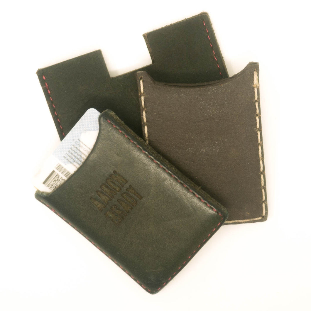 Scrappy Leather Wallet