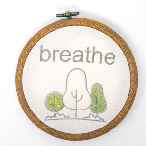 "5"" Hoop Modern Embroidery Kit"