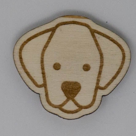 Laser Engraved Pet Magnet