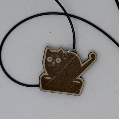 Laser Engraved Necklace