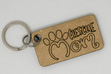 Load image into Gallery viewer, Laser Engraved Pet Key Chain