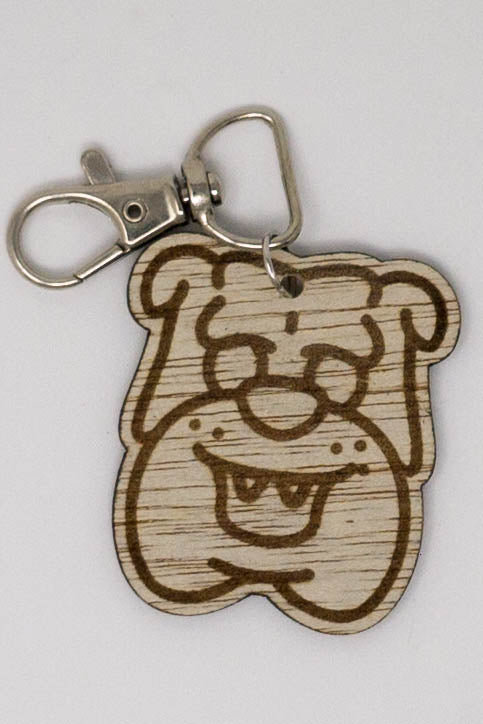 Laser Engraved Pet Key Chain