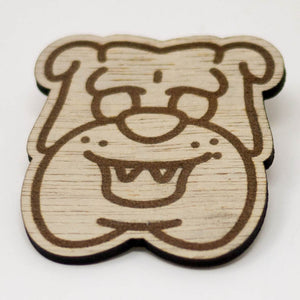 Laser-Engraved Pet Badge