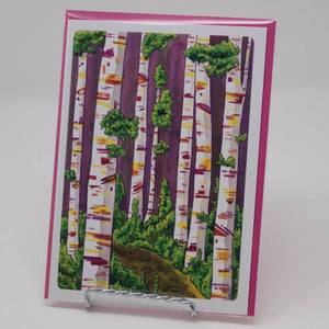 Tree Card Print Series