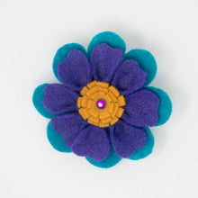 Load image into Gallery viewer, Felt Flower with Hair Clip