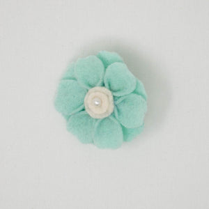 Felt Flower with Brooch Pin