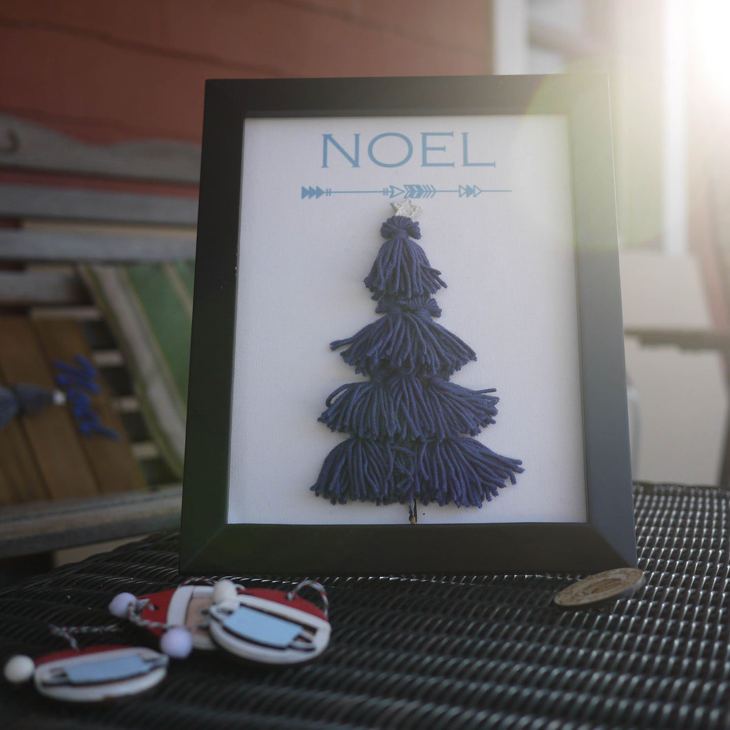 Scandi-Inspired Tassel Christmas Tree