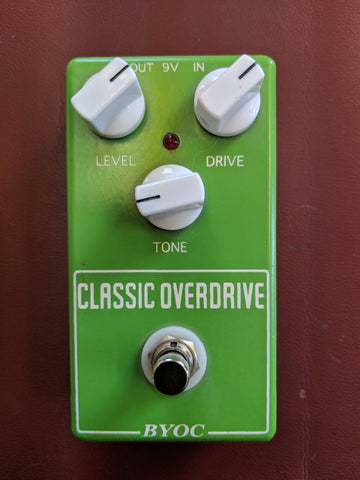 BYOC Classic Overdrive Pedal