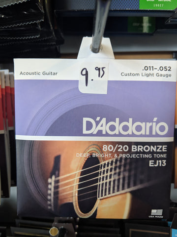 Acoustic Strings EJ13  11-52