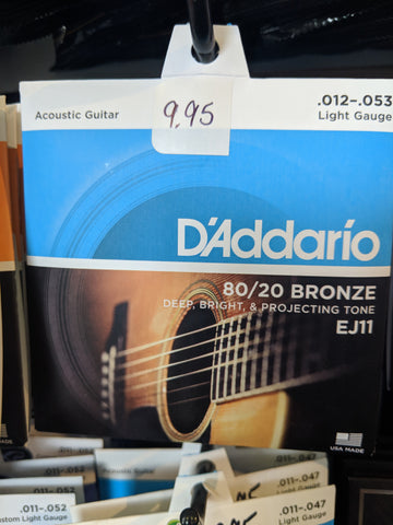 Acoustic Strings EJ11 12-53
