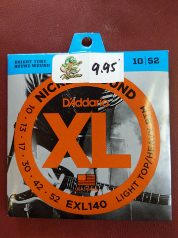 Electric Strings  EXL140  10-52