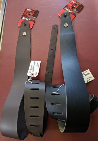 Leather Guitar Straps