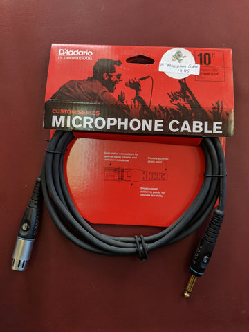 Custom Series Microphone Cable