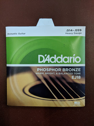 Acoustic Strings  EJ18  14-59