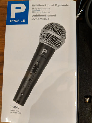 Profile microphone
