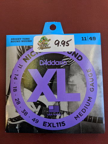 Electric Strings  EXL115  11-49