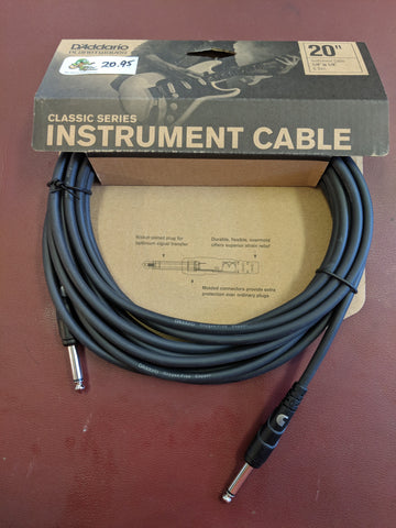 Classic Instrument (Patch) Cable
