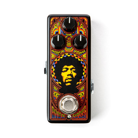 Dunlop AUTHENTIC HENDRIX™ '69 PSYCH SERIES BAND OF GYPSYS® FUZZ Pedal
