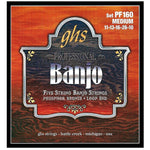 ghs Banjo 5-String Loop End Strings