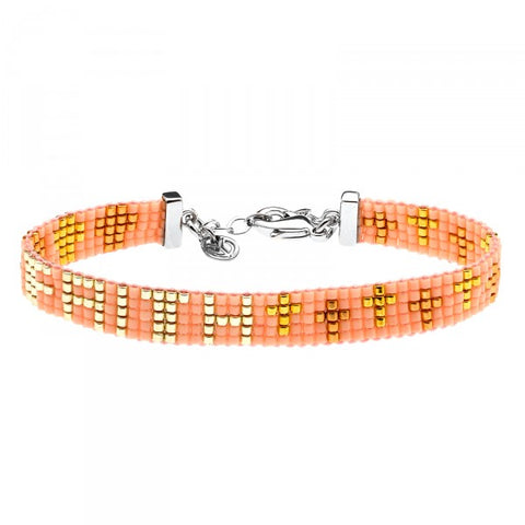 YC MEMORY BRACELET - FAITH (5 ROWS)