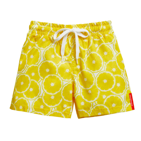 Bananas&Bananas Swimming Trunks - Lemon
