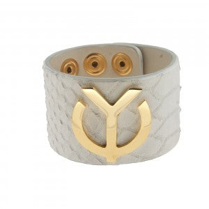 YC Signature Leather Bracelet