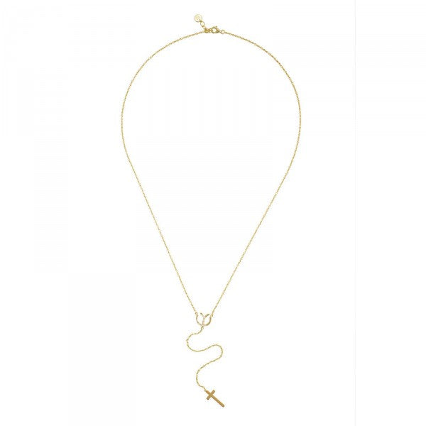 YC Signature Cross Necklace