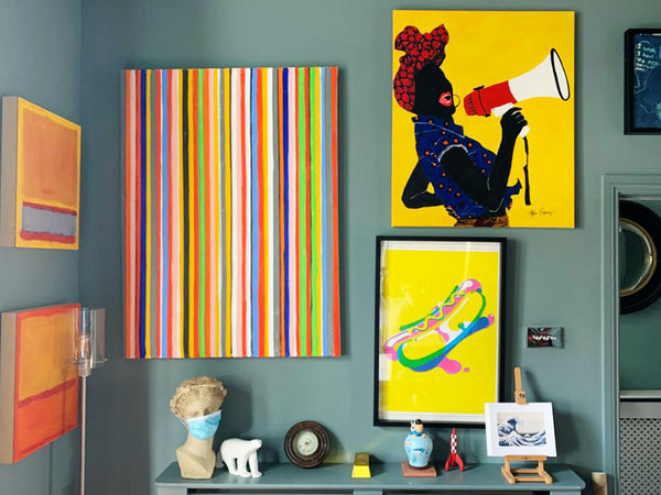 Art Collector and Entrepreneur, Tracy Forsyth Gets Candid About Her Colourful Art Collection