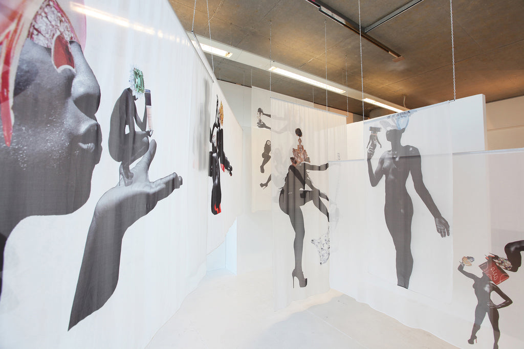 Shannon Lewis Get Me Bodied fabric installation
