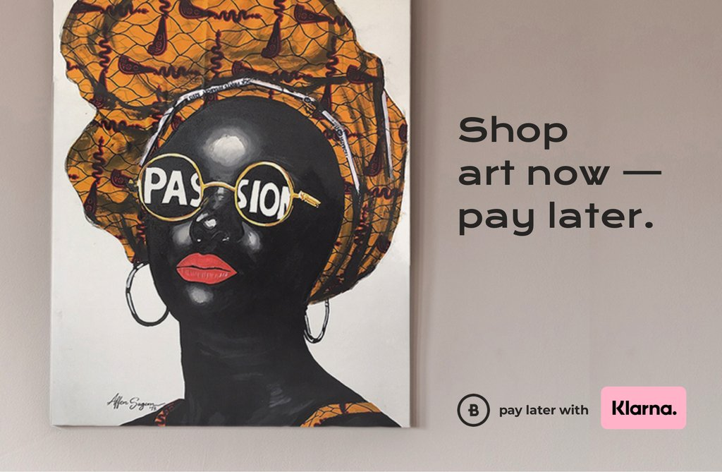 Shop art now pay later with Klarna