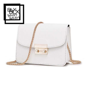 Acelure Summer Brand Bags Women Leather Handbags Chain Small Messenger Bag Candy Color Shoulder