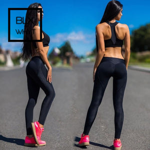 Black Push Up Leggings Women Fitness Pants Sexy Workout Gym Legins Legging Sports Wear For