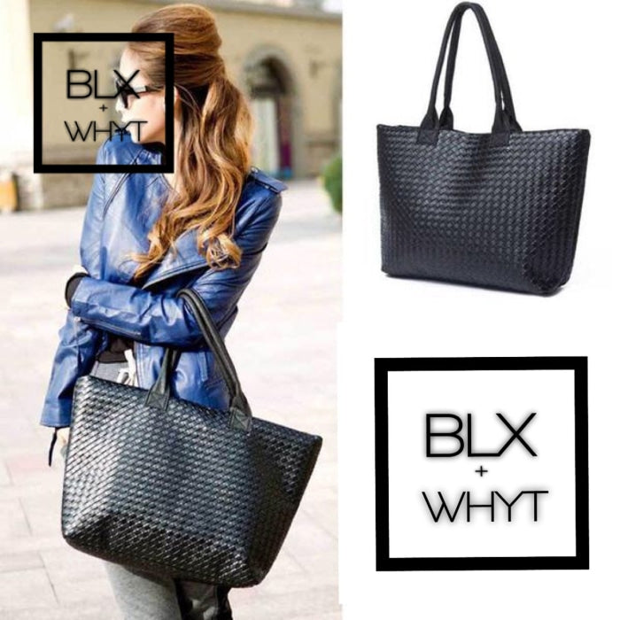 Fashion Simple New Design Women Black Bags Shoulder Bag For Pu Leather Handbags Lady Hand Bag