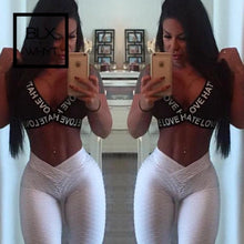 Load image into Gallery viewer, Sexy Push Up Leggings High Waist Elastic Casual Fitness Women Pants Bodybuilding Workout Leggin