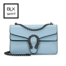 Load image into Gallery viewer, Snake Fashion Brand Women Bag Alligator Pu Leather Messenger Designer Chain Shoulder Crossbody