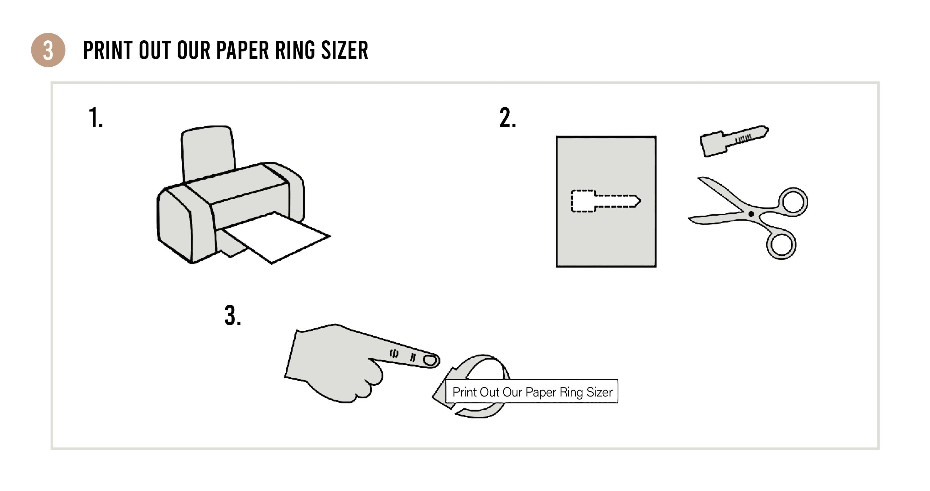 Paper Ring Sizer