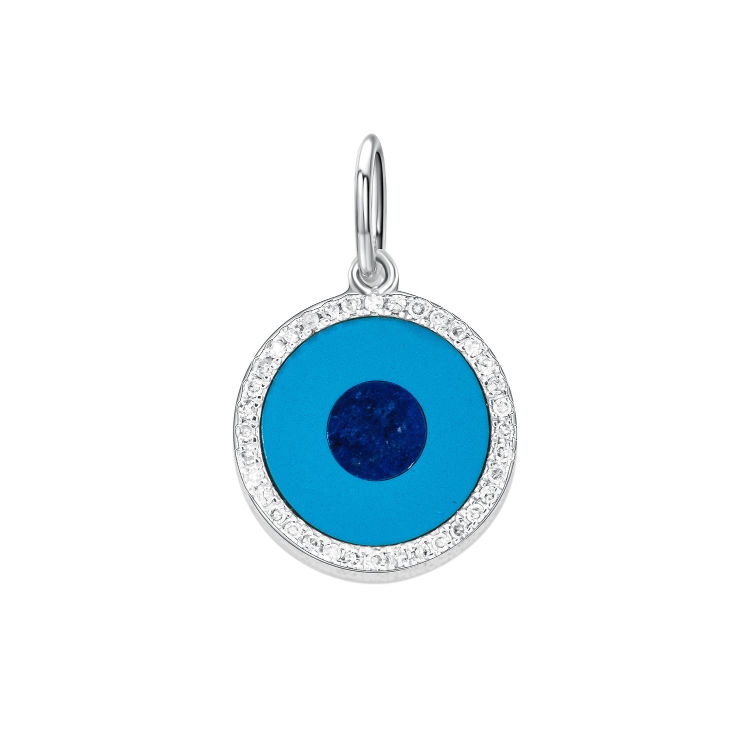 18k-white-gold-diamond-turquoise-and-lapis-round-pendant
