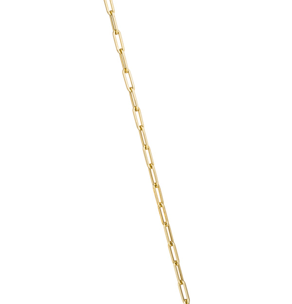 18K Yellow Gold 16' Small Links Chain Necklace - Retrofitting