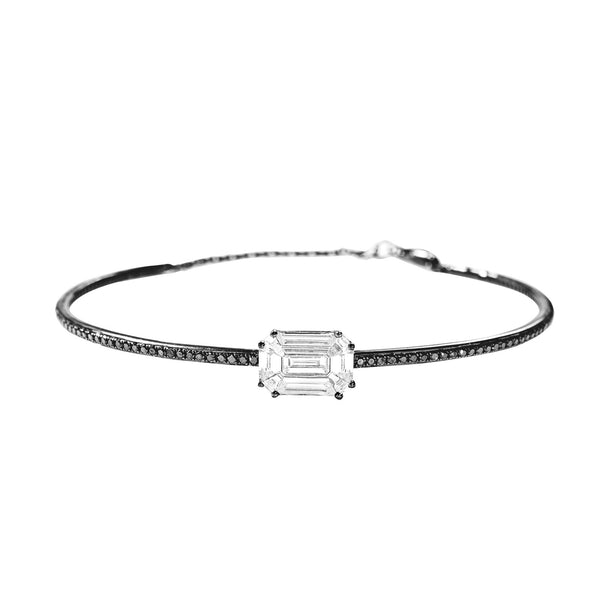 Illusion-Microset-Black-Diamond-Cuff-with-Chain