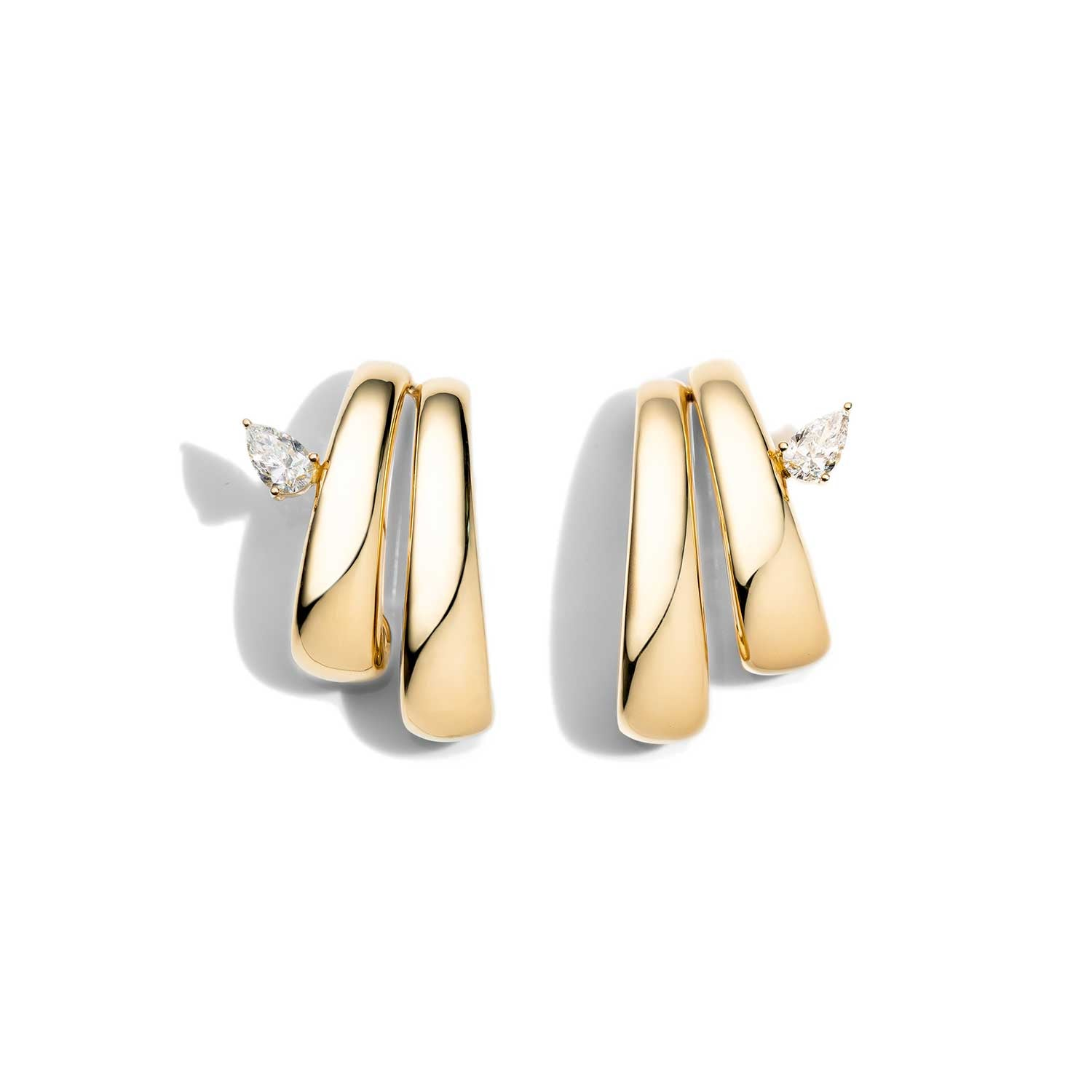 AS29 Bombee Earring in Yellow Gold