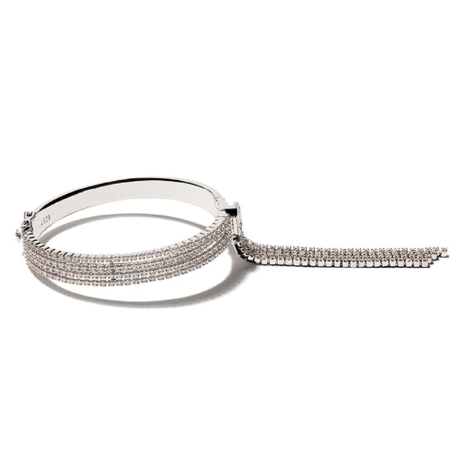 Venus Illusion Diamond Bangle
