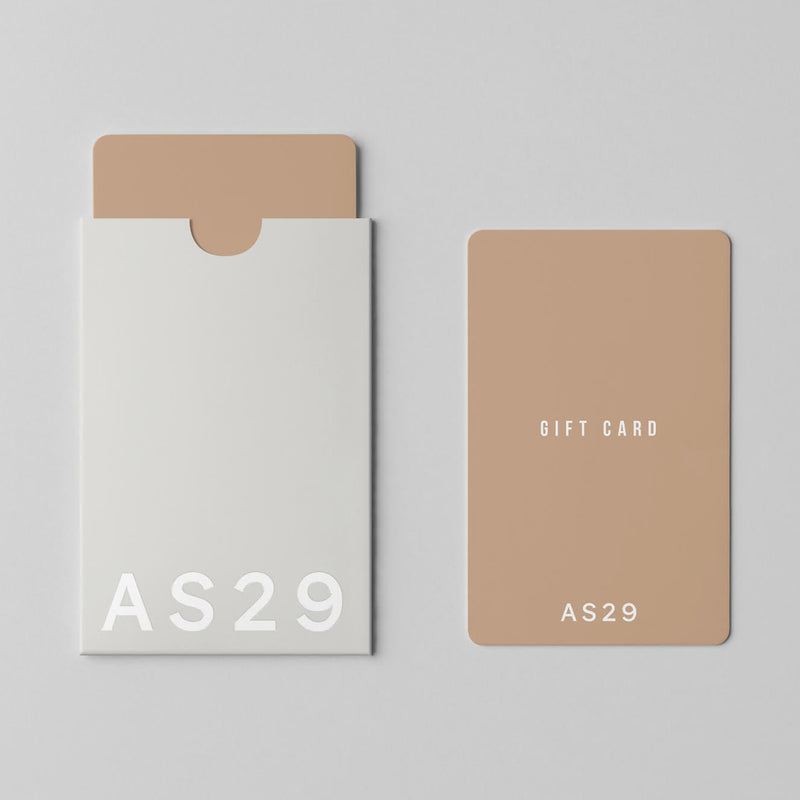 AS29 Gift Card