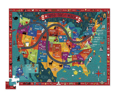 Discover America Puzzle & Play