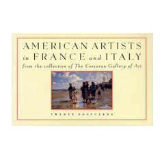 American Artists in France and Italy Postcards