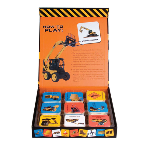 Big Trucks and Diggers Matching Game