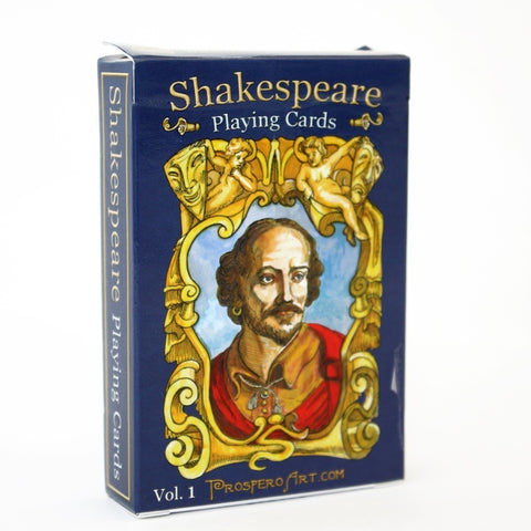 Shakespeare Quotes Playing Cards