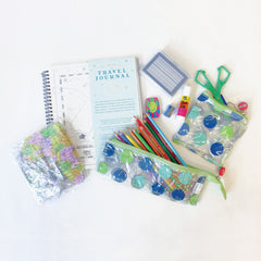 Children's Travel Journal & Activity Kit