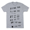 Library Card Stamp T-Shirts