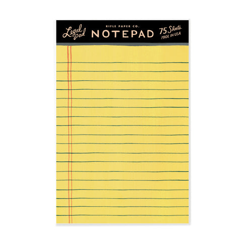 Legal Paper Notepad