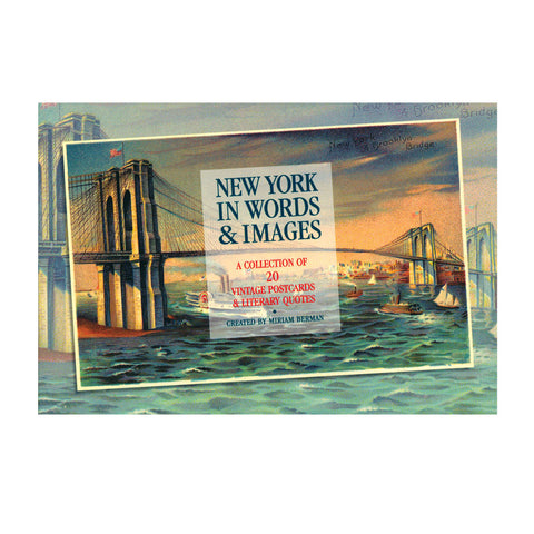 New York in Words and Images Postcards